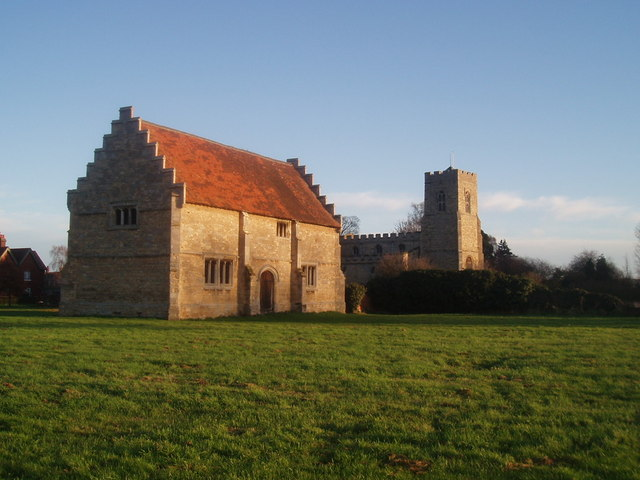 Old buildings in willington