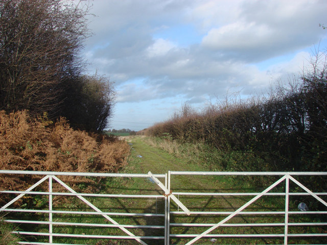 Ings Lane, footpath to Eggborough Ings