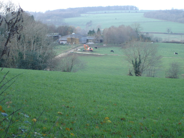 View of Bridzor Farm