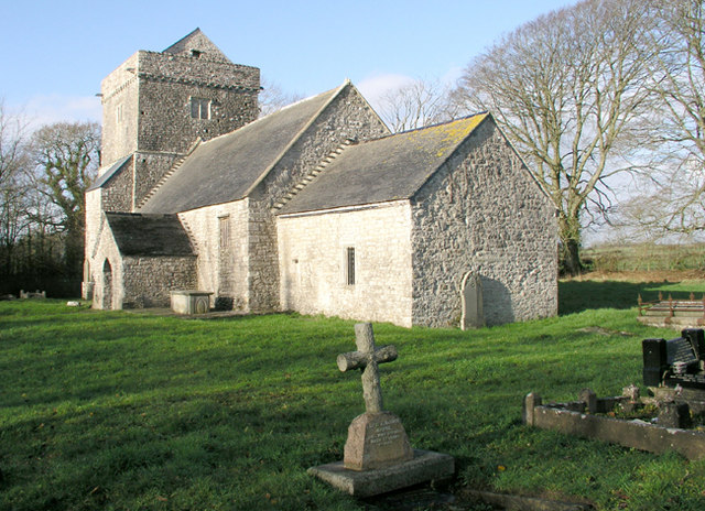 St Brynach's Church near Cowbridge