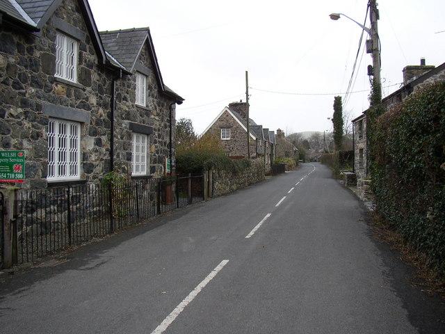 Llanegryn, lower end.