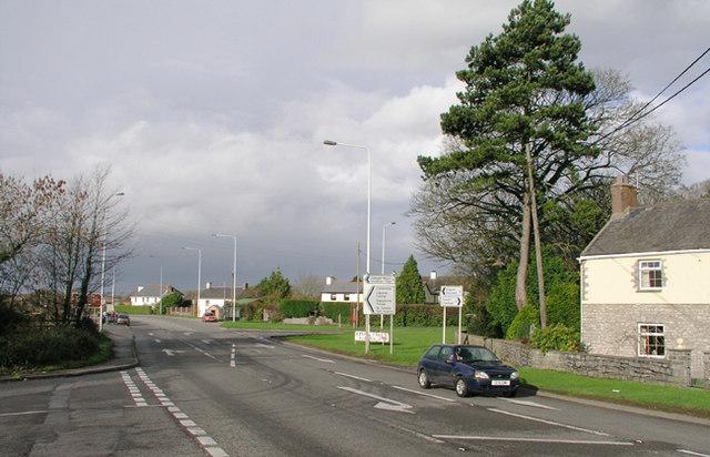 Pentre Meyrick Cross Roads - A48