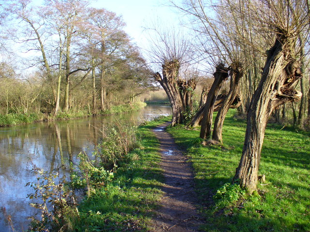 Towpath East of Stoke Lock