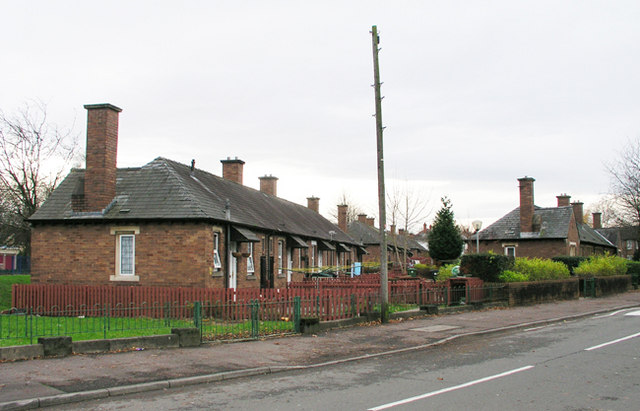 Pensioners' Houses (fronts), Ely , Cardiff