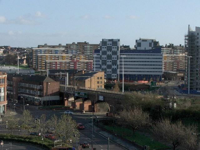 Junction of Duke Street and York Street, Leeds.