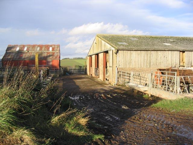 Farm buildings at Yarlside