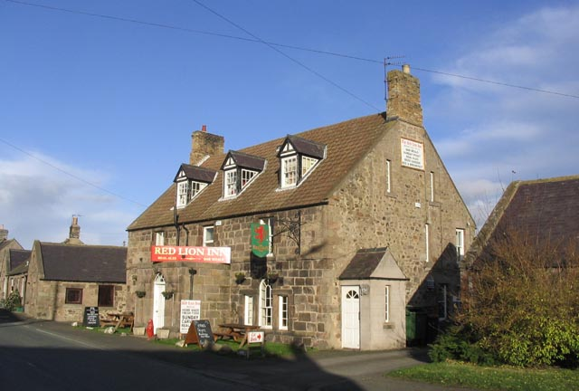 Red Lion Inn, Milfield