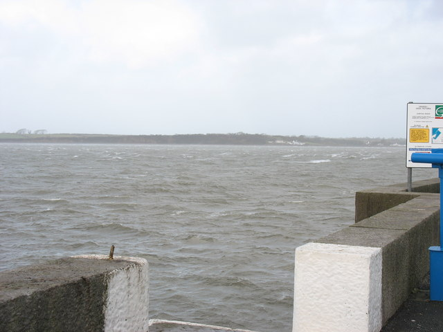 A rough looking Menai Straits