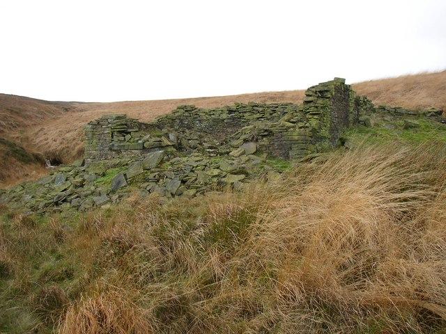 Ruins of Short Grain House, Marsden