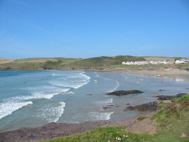 Hayle Bay Cornwall