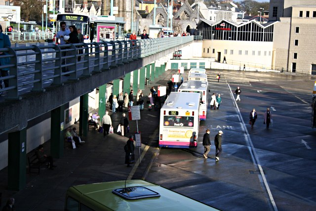 The Viaduct: Plymouth Bus Station