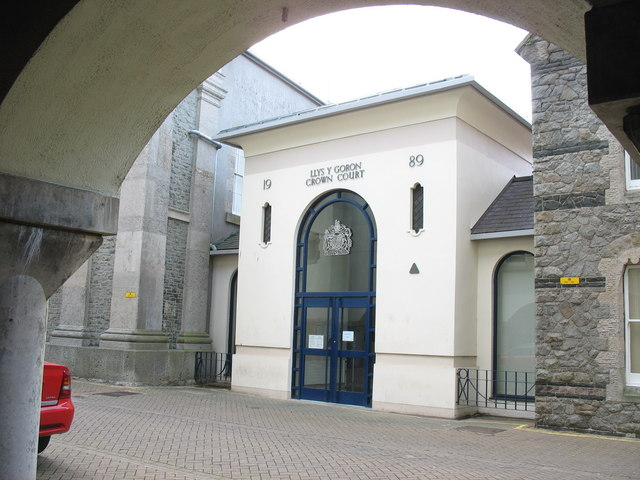 New entrance to the Crown Court in Shirehall Street