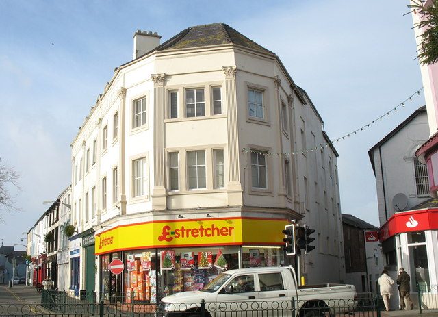 £-stretcher Store, Y Maes