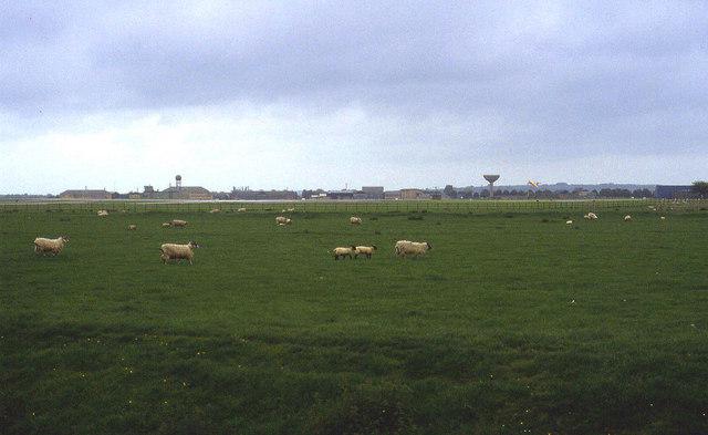 Sheep Pastures near RNAS Yeovilton