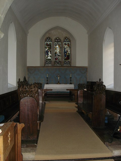 The Altar of St James Ansty