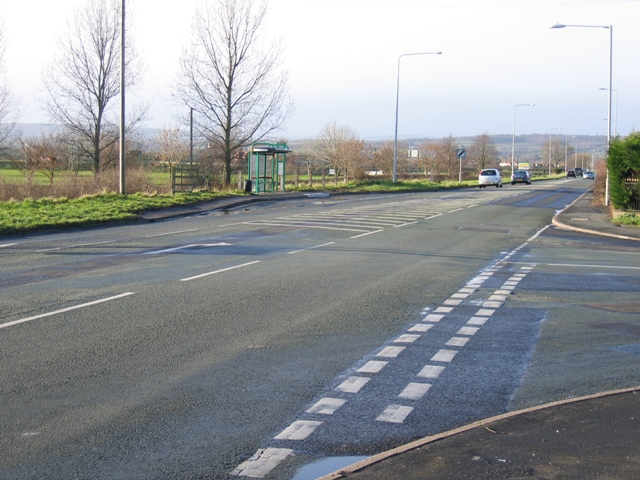 Road Junction at Saltney Ferry
