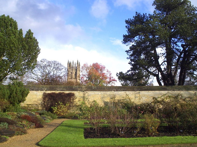 Magdalen Tower from the Botanic Garden