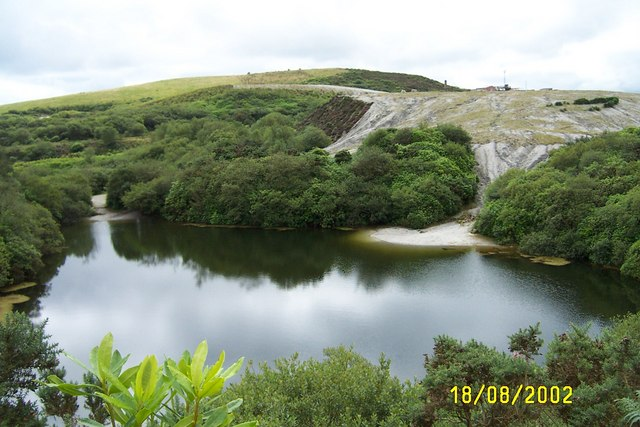 Disused clay pit