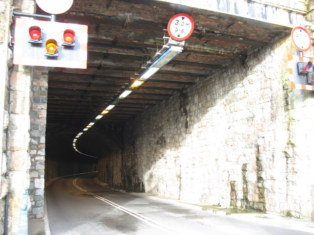 South Entrance to the Relief Road Tunnel under Y Maes
