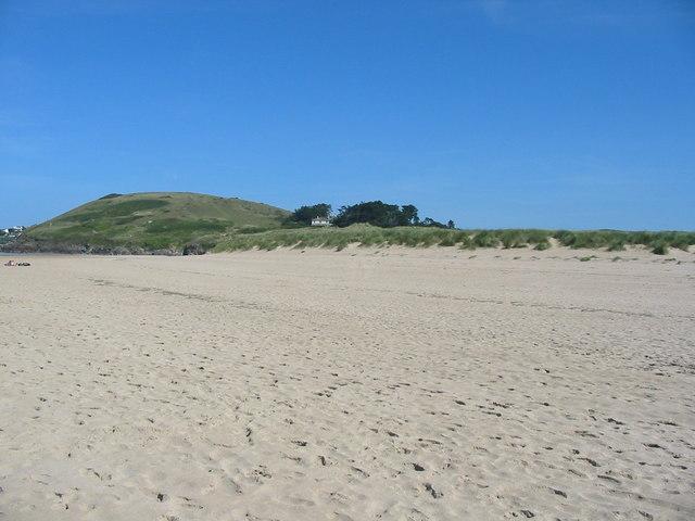 Beach near Rock Cornwall