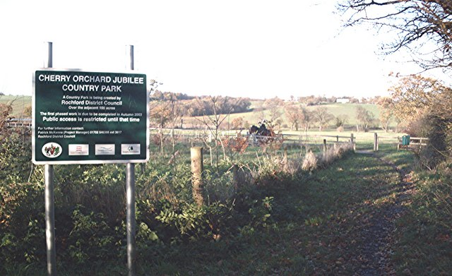 Cherry orchard jubilee country park john myers cc by sa - Cherry valley country club garden city ...
