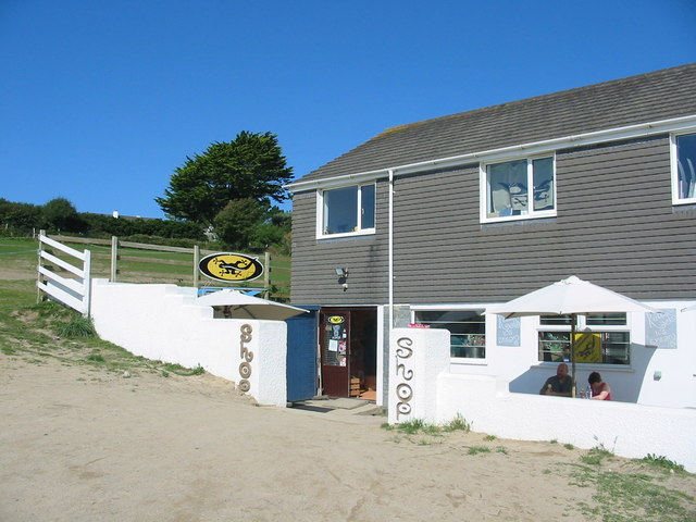 Shop and Cafe Daymer Bay Cornwall