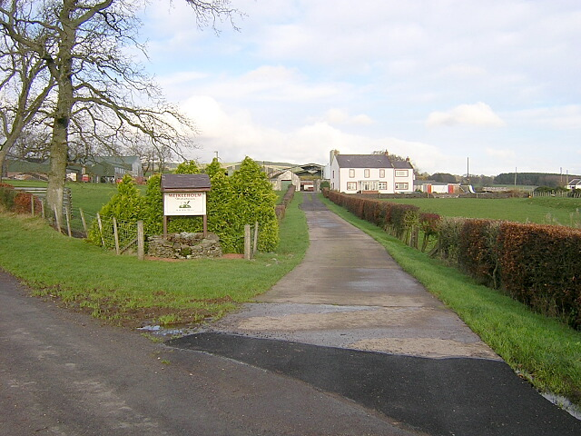 Entrance to Meikleholm Farm