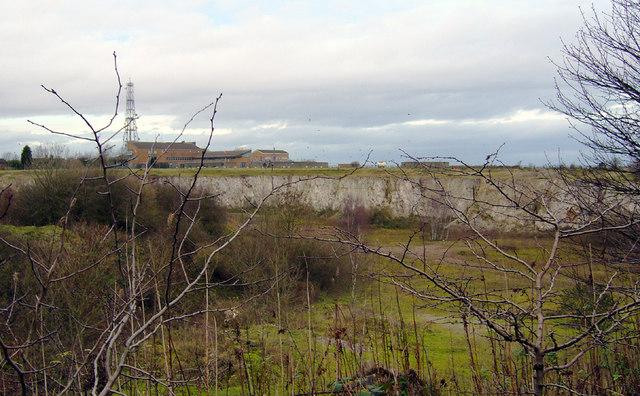 Disused Chalk Quarry