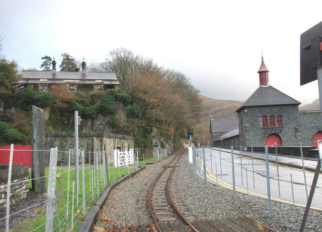 The Gilfach Ddu Section of the Llanberis Extension of the Lake Railway