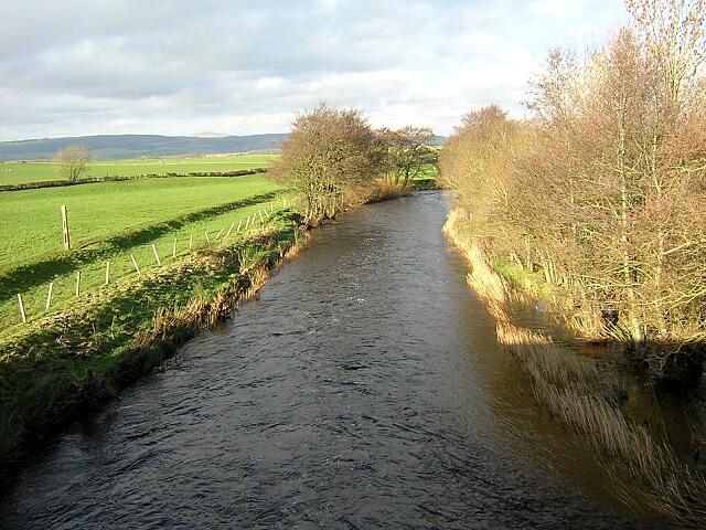 Water of Ae from Elshieshields Bridge