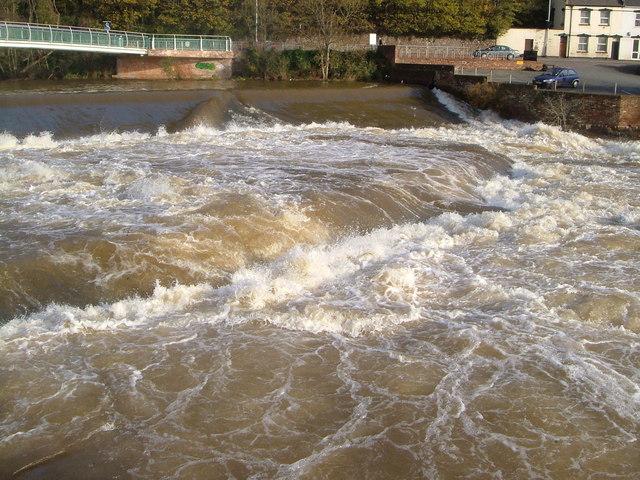 Blackaller Weir, Exeter