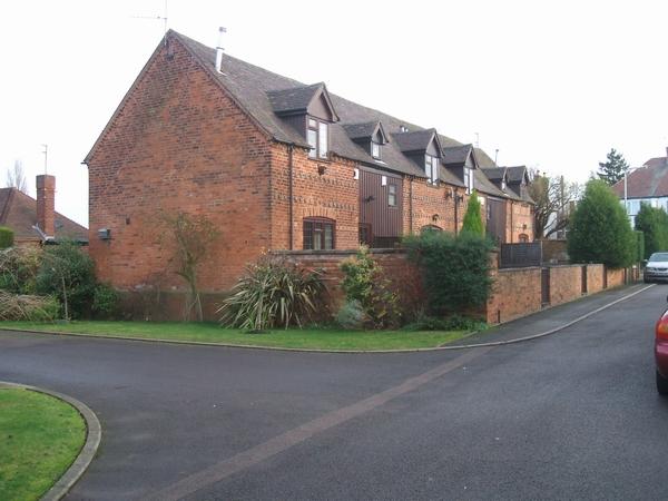 Barn conversion in Finchfield Lane