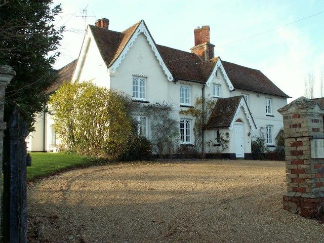Farmhouse known as Hill Hall