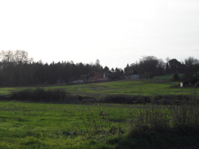 View towards Moor Farm