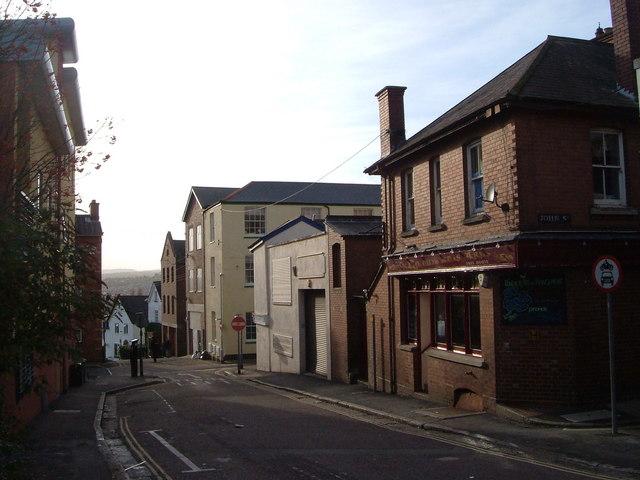 Smythen Street, Exeter
