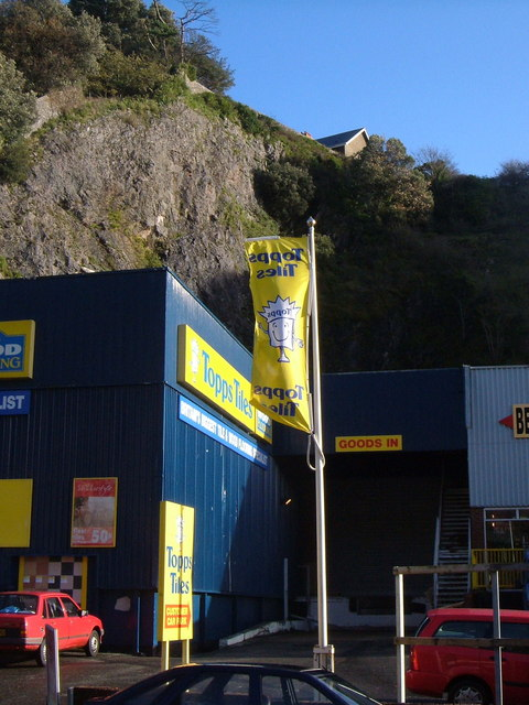 Topps Tiles and Daison Quarry , Torquay