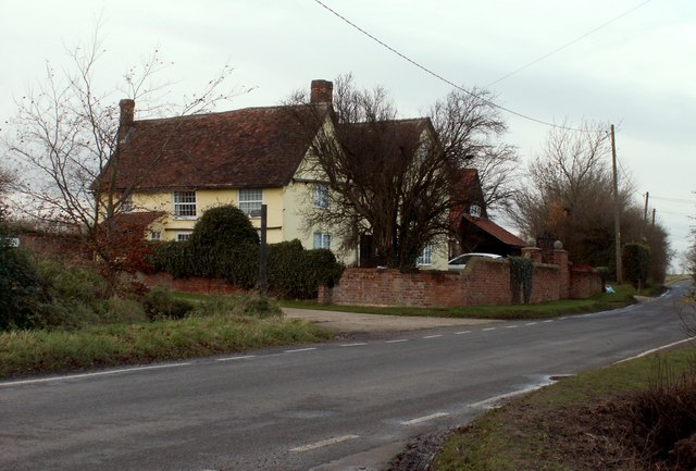 Old house at Drapers Green