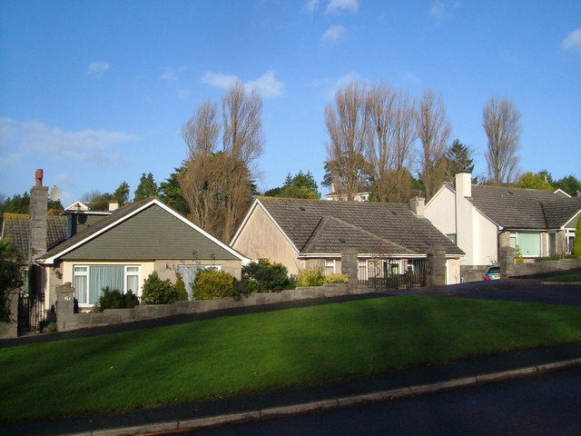 Bungalows on Bradley Park Road, Torquay