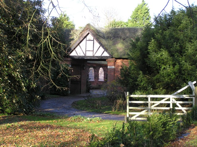 Gateway to Martley Hall