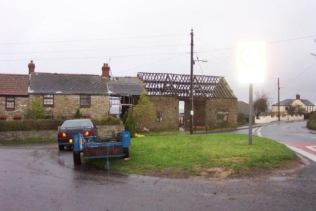 Cottages under renovation.