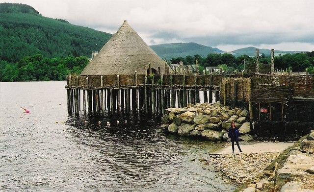 Scottish Crannog Centre, Loch Tay, Acharn.