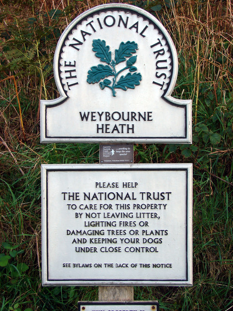 The National Trust, Weybourne Heath