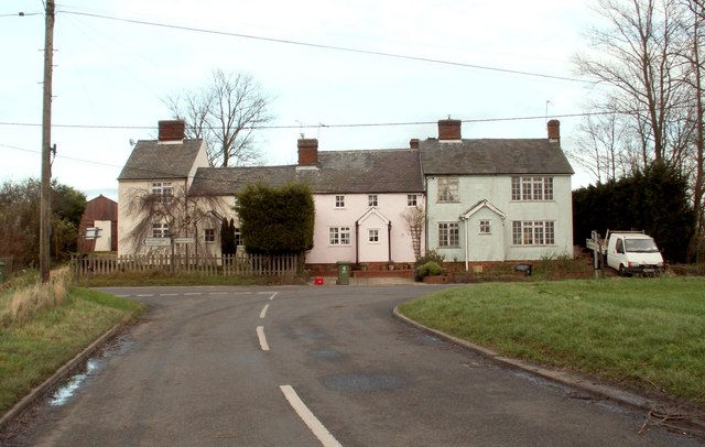 A row of houses at Nosterfield End