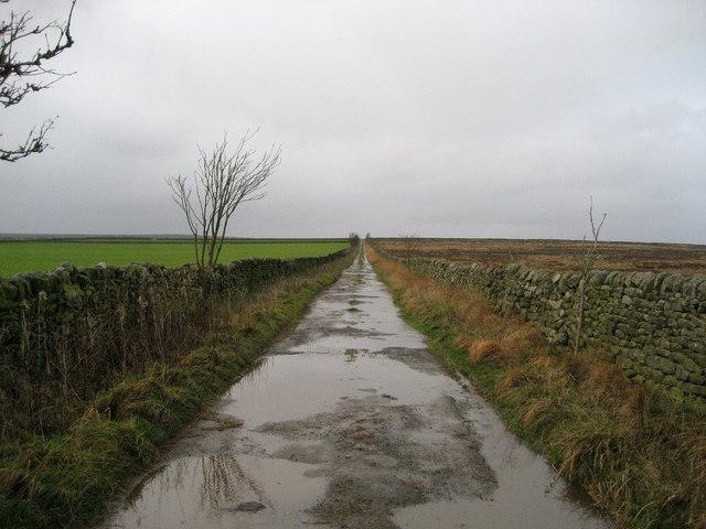 Green Lane over Pateley Moor
