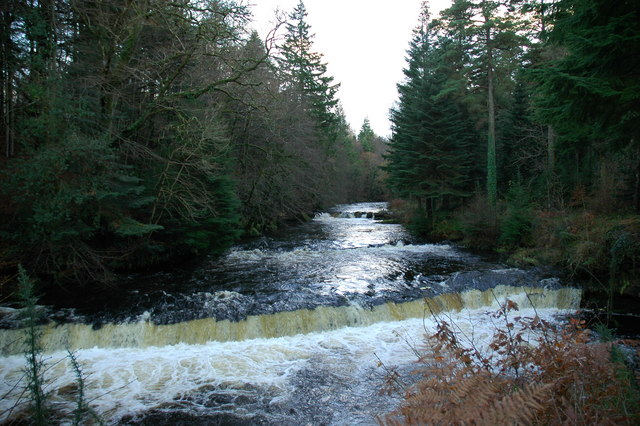 King's Falls, River Girvan