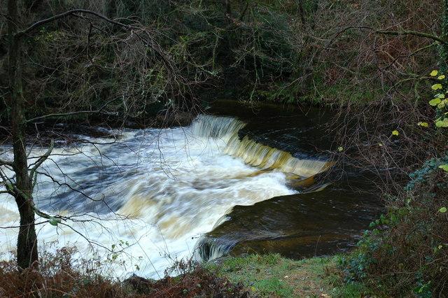 Tranew Linn, River Girvan