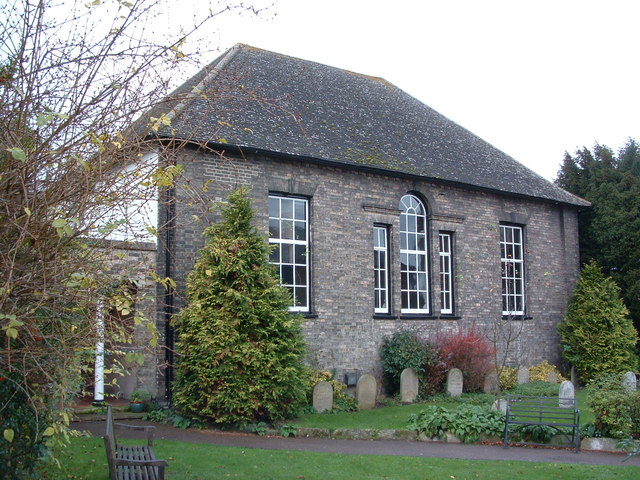 Quaker Meeting House Bury St.Edmunds © Keith Evans ... Quaker Meeting House