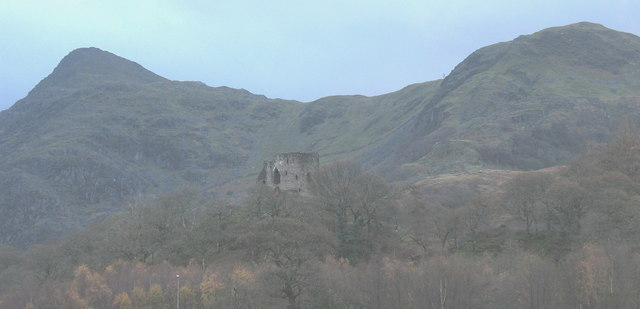 Castell Dolbadarn from the North