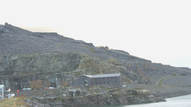 The Administration Building at Dinorwig HEP Station