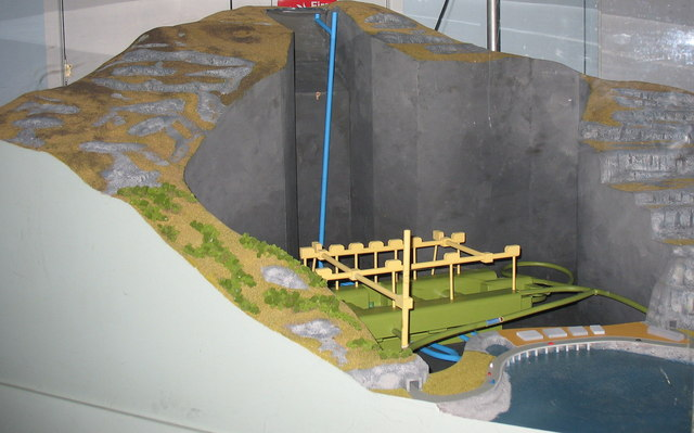 A model of the Dinorwig HEP Station